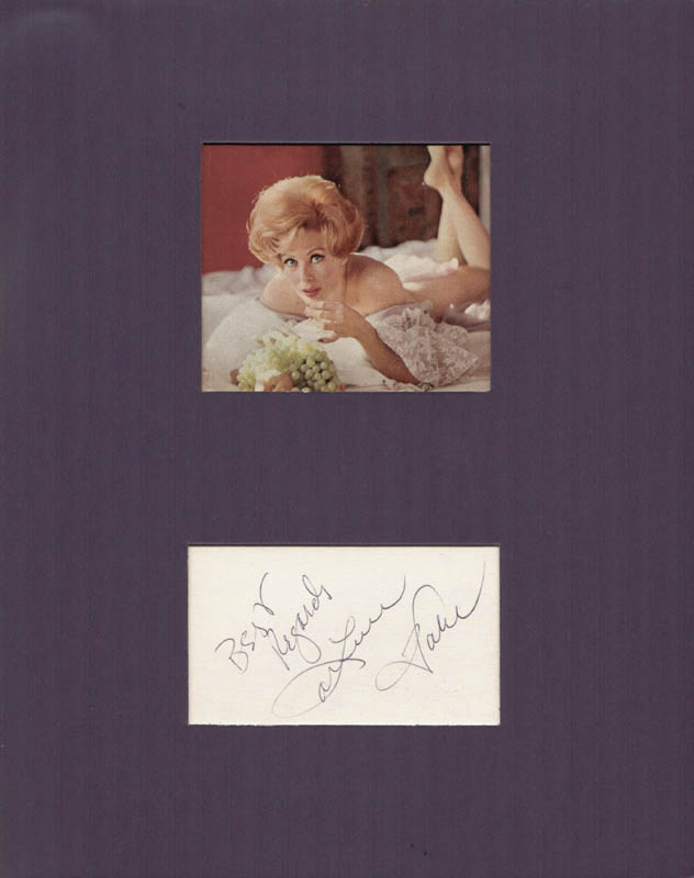 Image 1 for Arlene Dahl - Autograph Sentiment Signed - HFSID 215246