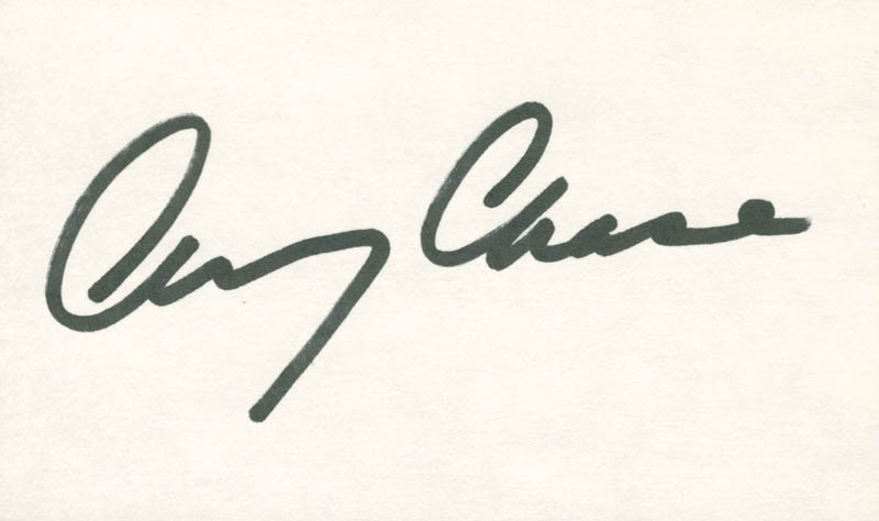 Image 1 for Chevy Chase - Autograph - HFSID 215477