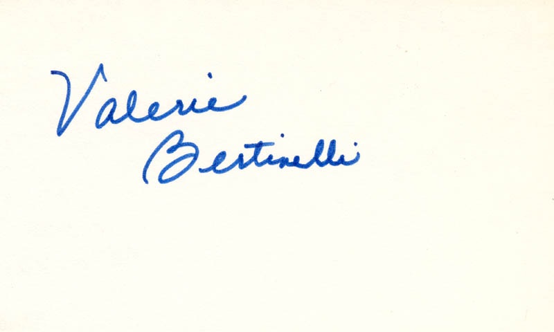Image 1 for Valerie Bertinelli - Autograph - HFSID 215557