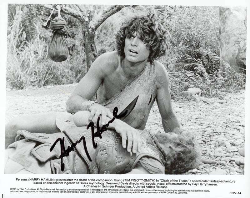 Image 1 for Harry Hamlin - Autographed Signed Photograph - HFSID 215653
