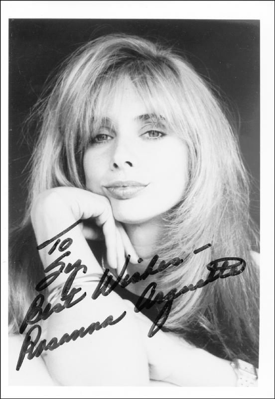 Image 1 for Rosanna Arquette - Autographed Inscribed Photograph - HFSID 215657