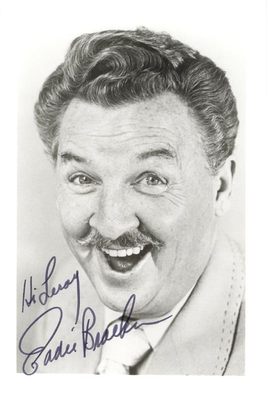 Image 1 for Eddie Bracken - Autographed Inscribed Photograph - HFSID 215661