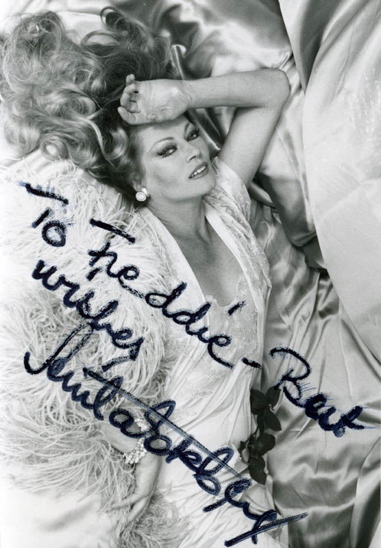 Image 1 for Anita Ekberg - Autographed Inscribed Photograph - HFSID 215721
