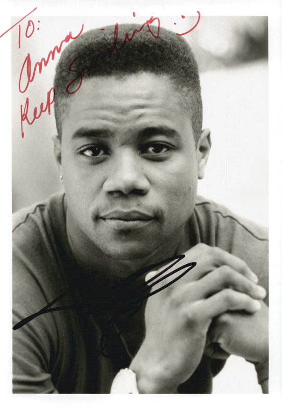 Image 1 for Cuba Gooding Jr. - Autographed Inscribed Photograph - HFSID 215725