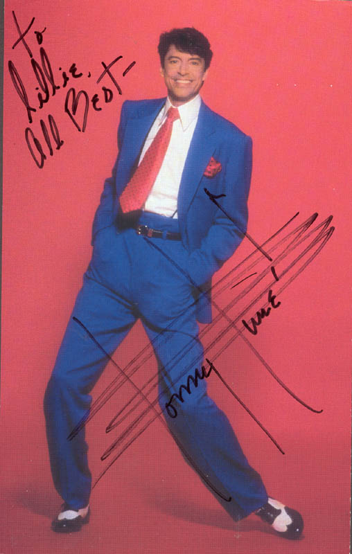 Image 1 for Tommy Tune - Autographed Inscribed Photograph - HFSID 215761