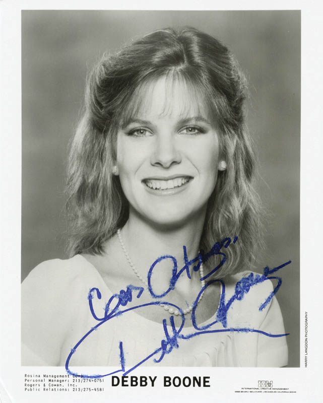 Image 1 for Debby Boone - Autographed Signed Photograph - HFSID 216131