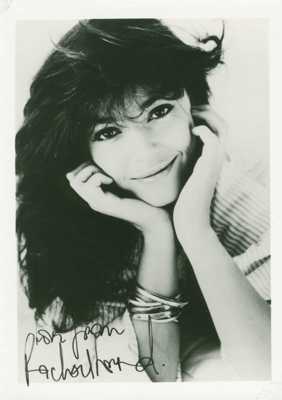 Image 1 for Rachel Ward - Autographed Inscribed Photograph - HFSID 216230