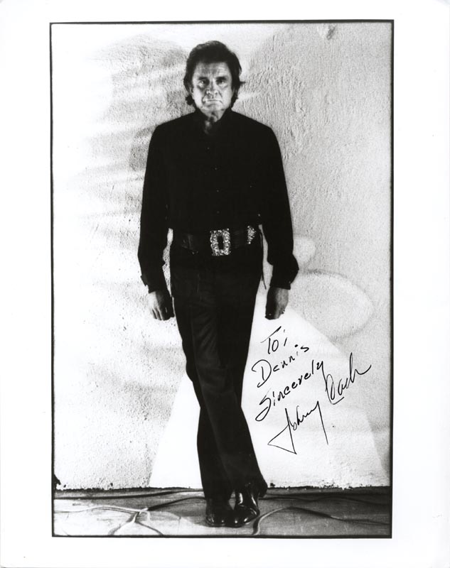 Image 1 for Johnny Cash - Autographed Inscribed Photograph - HFSID 216270