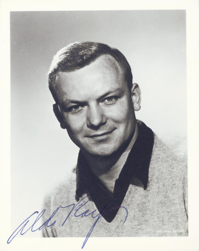 Image 1 for Aldo Ray - Autographed Signed Photograph - HFSID 216457
