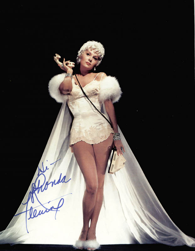 Image 1 for Rhonda Fleming - Autographed Signed Photograph - HFSID 216647
