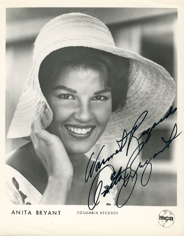 Image 1 for Anita Bryant - Printed Photograph Signed In Ink - HFSID 216793