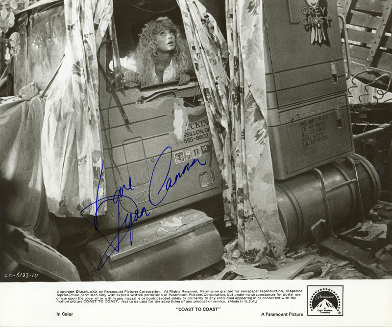 Image 1 for Dyan Cannon - Autographed Signed Photograph - HFSID 216834