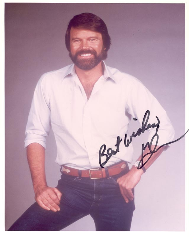 Image 1 for Glen Campbell - Autographed Signed Photograph - HFSID 216851