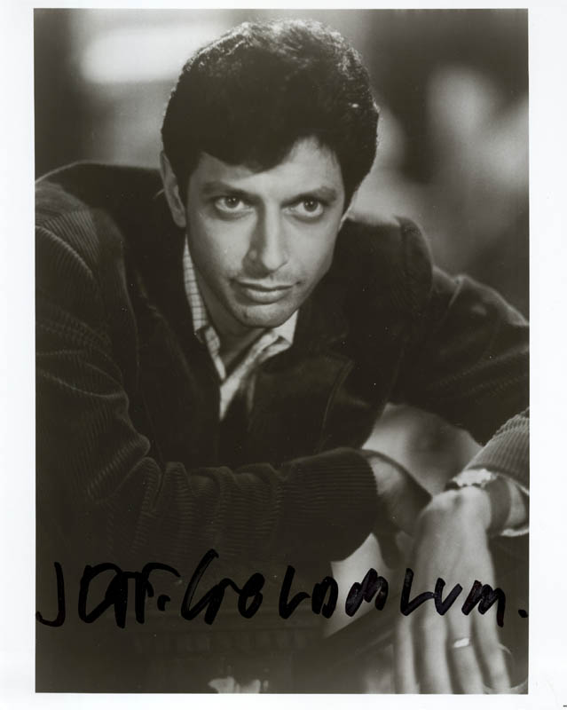 Image 1 for Jeff Goldblum - Autographed Signed Photograph - HFSID 216876