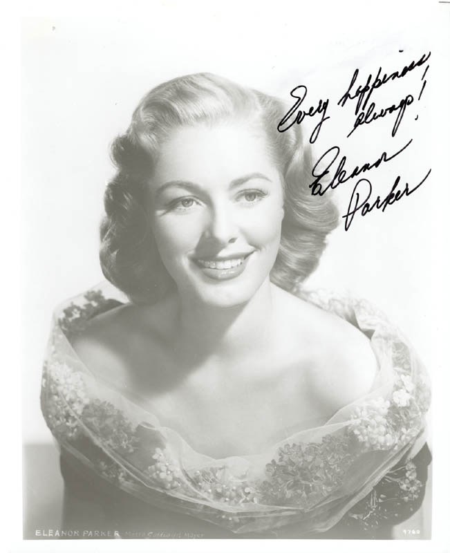 Image 1 for Eleanor Parker - Autographed Signed Photograph - HFSID 216918