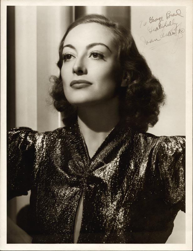 Image 1 for Joan Crawford - Autographed Inscribed Photograph - HFSID 217073