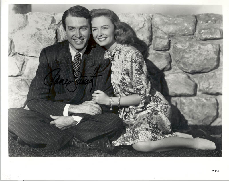 Image 1 for James 'Jimmy' Stewart - Autographed Signed Photograph - HFSID 217362