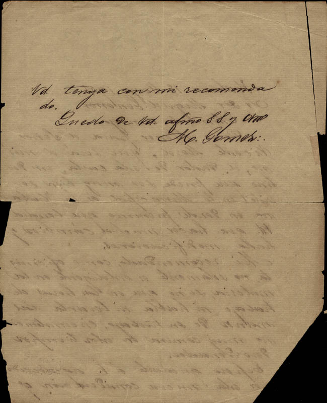 Image 1 for General Maximo Gomez Y Baez - Autograph Letter Signed 05/18/1901 - HFSID 217443