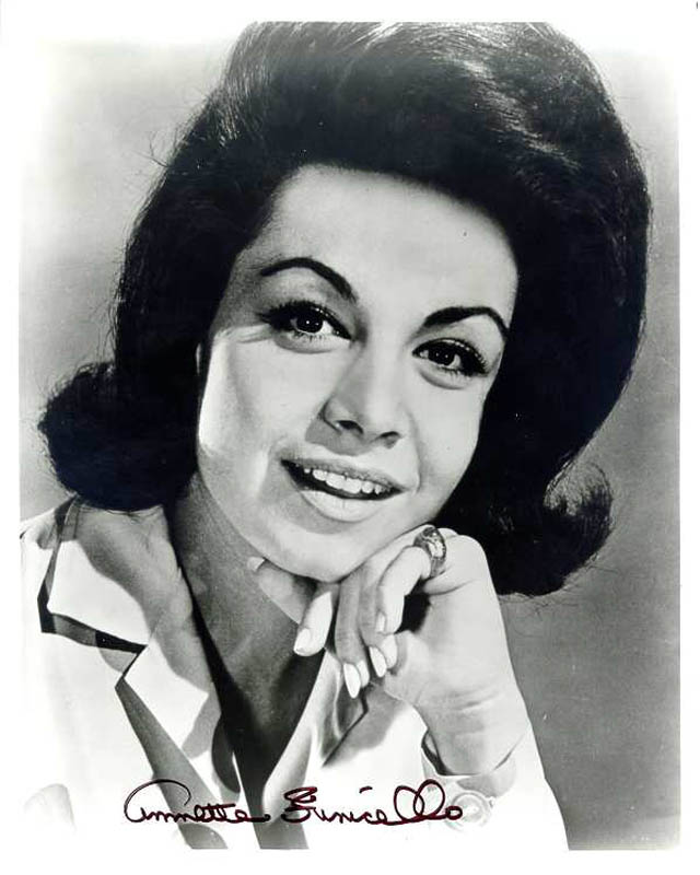 Image 1 for Annette Funicello - Autographed Signed Photograph - HFSID 217599