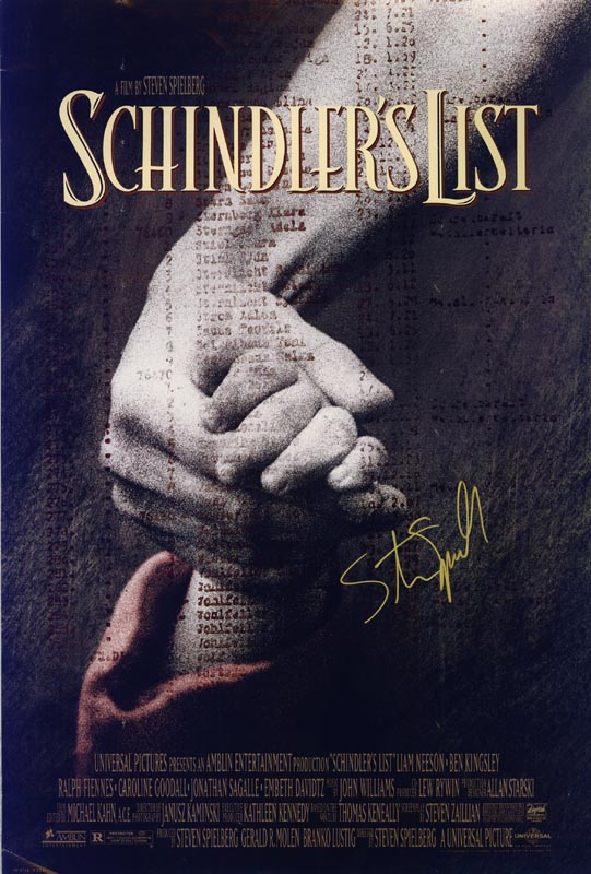 Image 1 for Steven Spielberg - Autographed Signed Poster - HFSID 217610