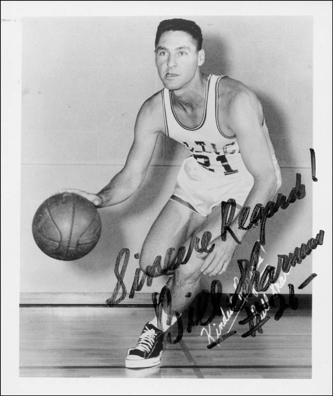 Image 1 for Bill Sharman - Autographed Signed Photograph - HFSID 217677