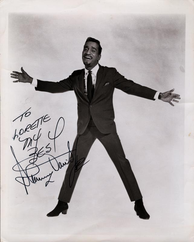 Image 1 for Sammy Davis Jr. - Autographed Inscribed Photograph - HFSID 217811