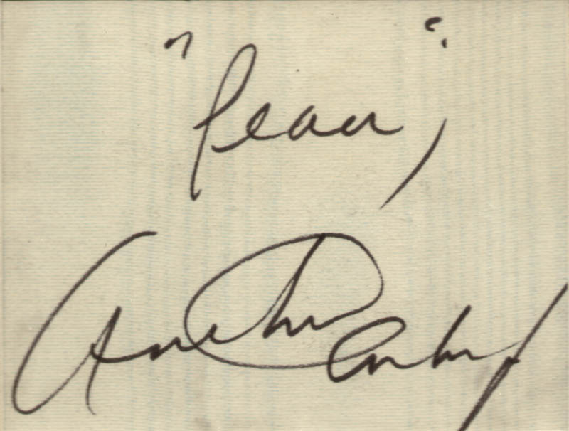 Image 3 for Arthur Ashe - Autograph Sentiment Signed - HFSID 217821