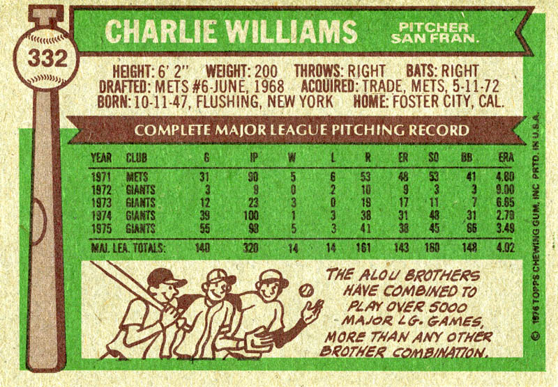 Image 3 for Charlie Williams - Trading/Sports Card Signed - HFSID 21802