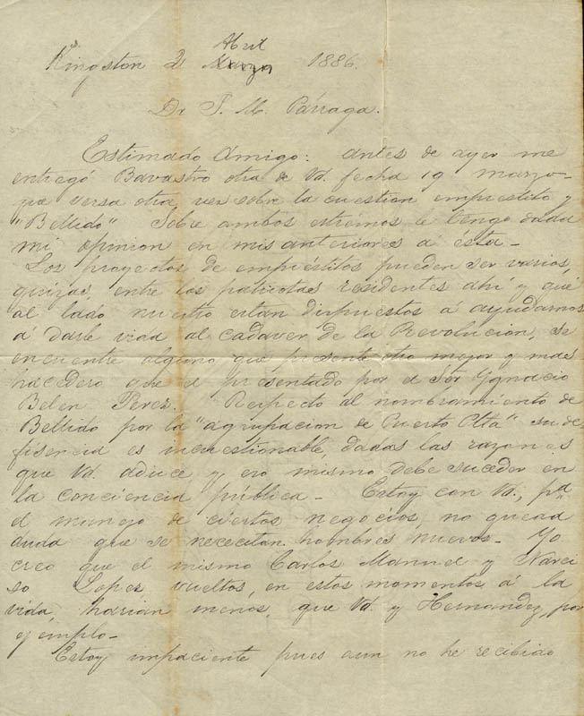 Image 3 for General Maximo Gomez Y Baez - Autograph Letter Signed - HFSID 218084