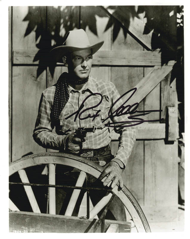 Image 1 for Rex Allen - Autographed Signed Photograph - HFSID 218313