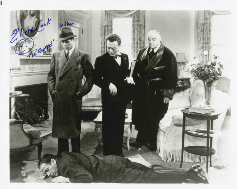 Image 1 for Elisha Cook Jr. - Autographed Signed Photograph - HFSID 218316