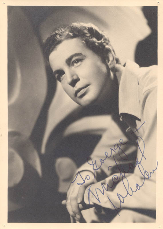Image 1 for Michael Whalen - Autographed Inscribed Photograph - HFSID 22096