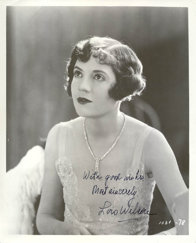 Image 1 for Lois Wilson - Autographed Signed Photograph - HFSID 22116