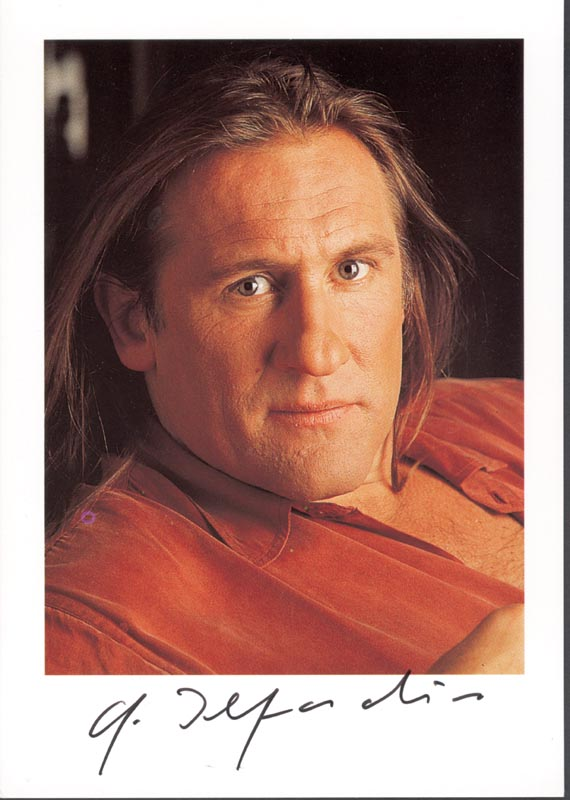 Image 1 for Gerard Depardieu - Autographed Signed Photograph - HFSID 221283