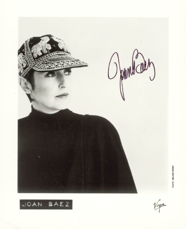 Image 1 for Joan Baez - Autographed Signed Photograph - HFSID 221675