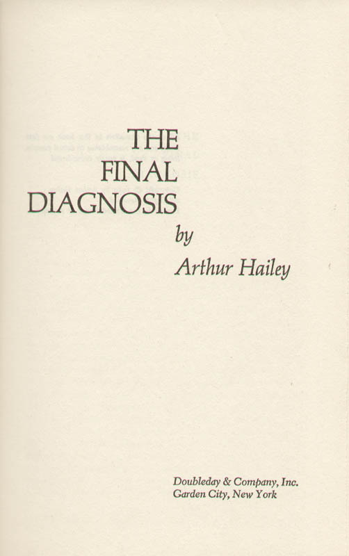 Image 4 for Arthur Hailey - Inscribed Book Signed 05/10/1978 - HFSID 221966