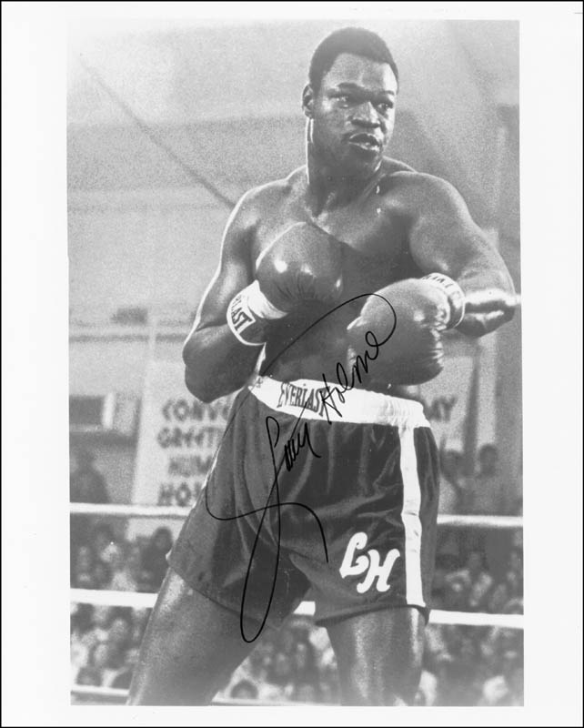 Image 1 for Larry Holmes - Autographed Signed Photograph - HFSID 222045