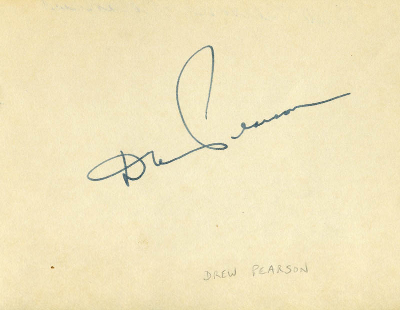 Image 1 for Drew Pearson - Autograph - HFSID 222137