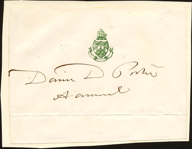 Image 1 for Admiral David D. Porter - Printed Card Signed In Ink - HFSID 22217