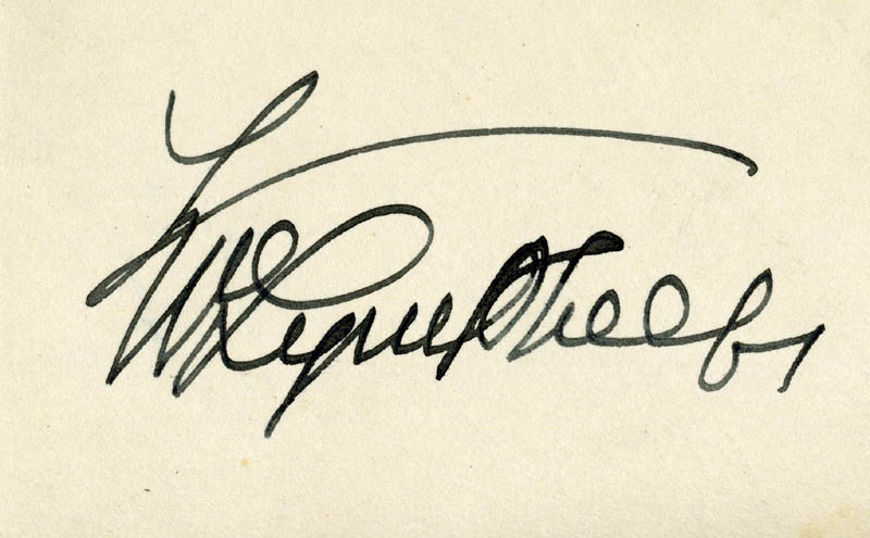 Image 1 for William Lyon Phelps - Autograph Circa 1939 - HFSID 222237