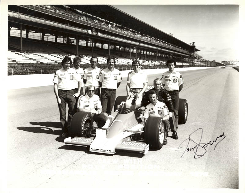 Image 1 for Tom Sneva - Autographed Signed Photograph - HFSID 222284
