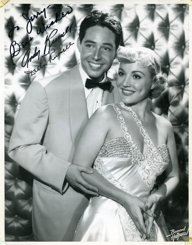 Image 1 for Andy Russell - Autographed Signed Photograph co-signed by: Della Russell - HFSID 222456