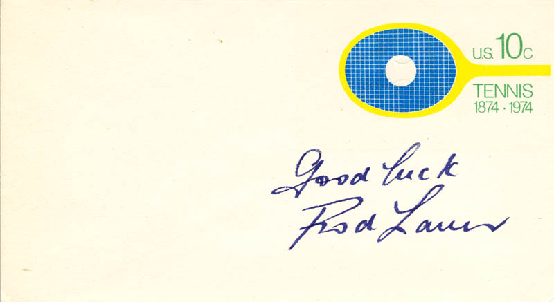 Image 1 for Rod Laver - Envelope Signed - HFSID 222477