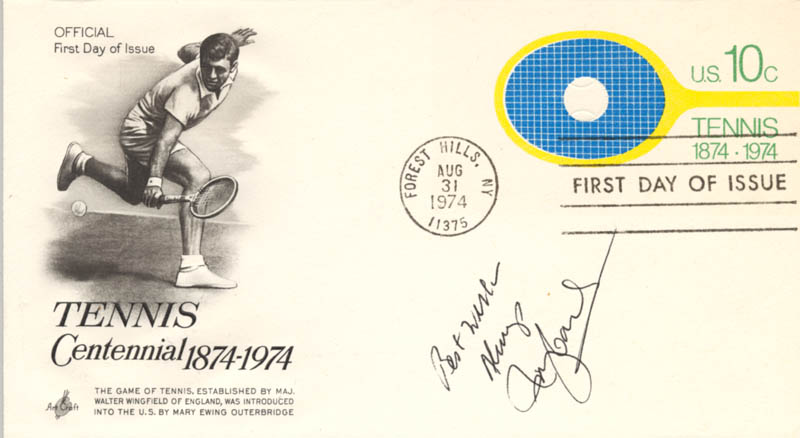 Image 1 for Rosie (Rosemary) Casals - First Day Cover With Autograph Sentiment Signed - HFSID 222491