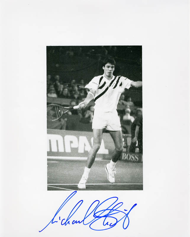 Image 1 for Michael Stich - Autographed Signed Photograph - HFSID 222498