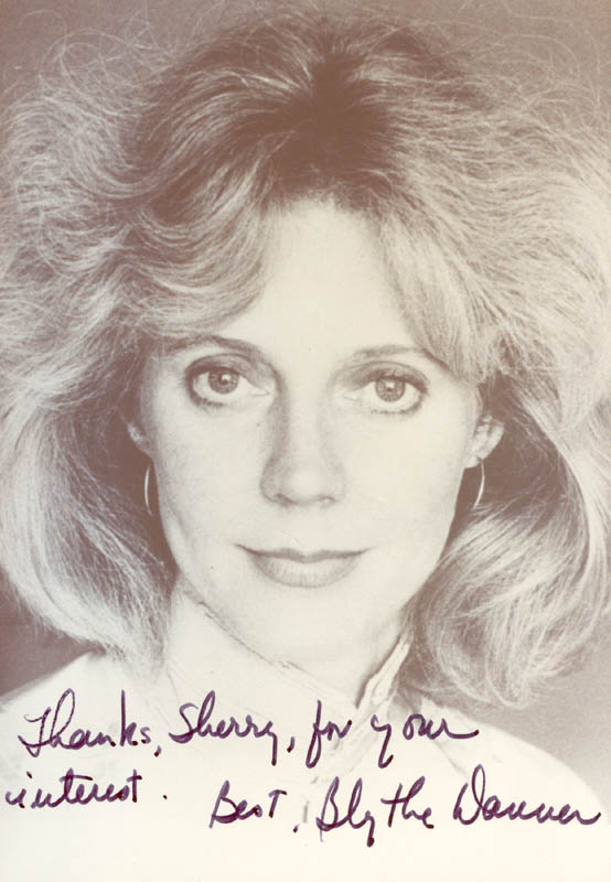 Image 1 for Blythe Danner - Autographed Signed Photograph - HFSID 222572