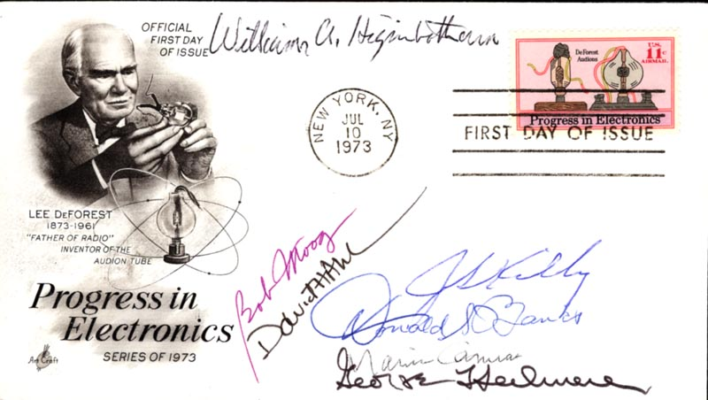 Image 1 for Jack S. Kilby - First Day Cover Signed with co-signers - HFSID 222719