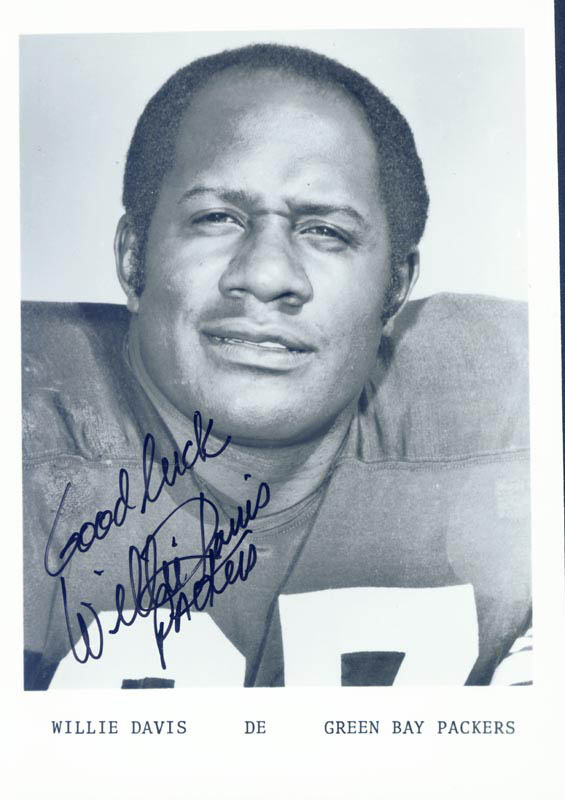 Image 1 for Willie Davis - Autographed Signed Photograph - HFSID 222734