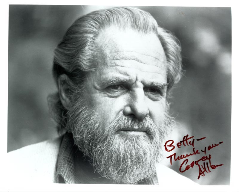Image 1 for Corey Allen - Autographed Inscribed Photograph - HFSID 222832