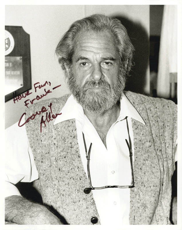 Image 1 for Corey Allen - Autographed Inscribed Photograph - HFSID 222835
